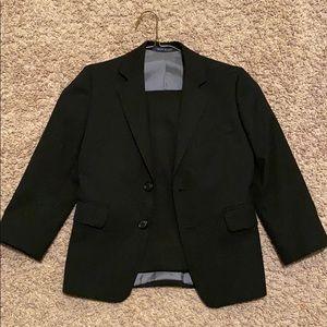 Boy's black suit
